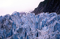 New Zealand,  December 1994  ..New Zealand Franz Josef Glacier..Photo Kees Metselaar