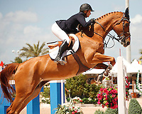 Baronez ridden by Kirsten Coe, USEF trials#2 Wellington Florida. 3-22-2012