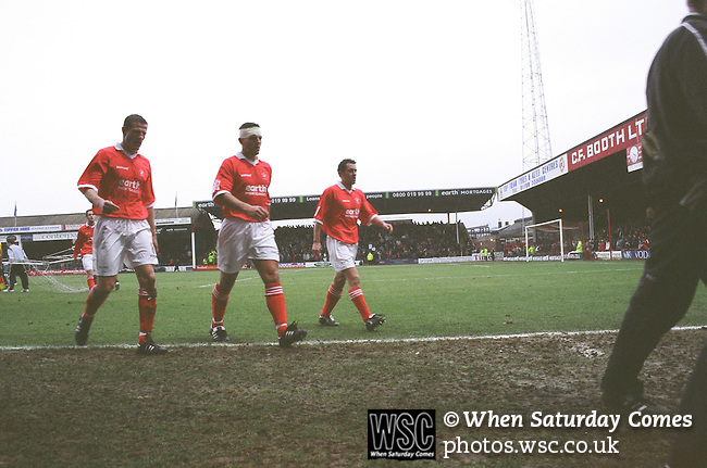Rotherham 1 Nottingham Forest 1, 21/01/2006. Millmoor, League One. Photo by Simon Gill.