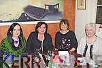 Olive Stack from Olive  Stack Gallery and Mary O'Flaherty, Geraldine Flavin and Patricia O'Flaherty from Chic Boutique pictured here last Saturday night where traders and business's from Church Street, Listowel  came together for a special Christmas party in Allos Restaurant, Listowel.
