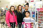 Enjoying the  CH Chemist Fashion tips and Beauty tricks on Friday were Amy Sammy, Rachel Amira, Ciara Sammy and Maria Sammy