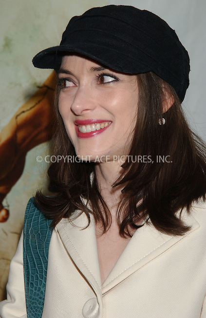 WWW.ACEPIXS.COM . . . . . ....July 23 2007, New York City....Actress Winona Ryder attending the premiere of 'The Ten' at the DGA Theatre in midtown Manhattan.....Please byline: KRISTIN CALLAHAN - ACEPIXS.COM.. . . . . . ..Ace Pictures, Inc:  ..(646) 769 0430..e-mail: info@acepixs.com..web: http://www.acepixs.com