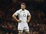 Chris Robshaw of England - RBS 6Nations 2015 - Wales  vs England - Millennium Stadium - Cardiff - Wales - 6th February 2015 - Picture Simon Bellis/Sportimage