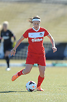Boyds, Maryland - March 15, 2014. Diana Matheson of the Washington Spirit.  The Washington Spirit during the Meet the Team at the Maryland SoccerPlex.