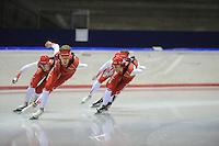 SCHAATSEN: HEERENVEEN: IJsstadion Thialf, 11-07-2013, Training zomerijs, Team Corendon, ©foto Martin de Jong
