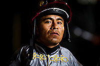 July 20, 2014: Jockey, Martin Garcia at Del Mar Race Track in Del Mar CA. Alex Evers/ESW/CSM