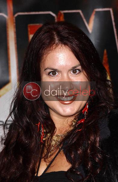 "Fileena Bahris<br /> at the premiere of ""Doom"", Universal City Cinemas, Universal City, CA 10-17-05<br /> David Edwards/DailyCeleb.Com 818-249-4998"