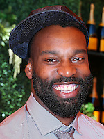 PACIFIC PALISADES, CA, USA - OCTOBER 11: Baron Davis arrives at the 5th Annual Veuve Clicquot Polo Classic held at Will Rogers State Historic Park on October 11, 2014 in Pacific Palisades, California, United States. (Photo by Xavier Collin/Celebrity Monitor)