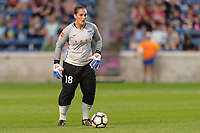 Bridgeview, IL - Wednesday August 16, 2017: Michele Dalton during a regular season National Women's Soccer League (NWSL) match between the Chicago Red Stars and the Seattle Reign FC at Toyota Park.