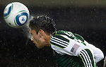 PORTLAND, OR - APRIL 14: Kenny Cooper #33 of the Portland Timbers heads the ball out of the box during the first half of the game at Jeld-Wen Field on April 14, 2011 in Portland, Oregon. The Timbers won the game 4-2. (Photo by Steve Dykes/Getty Images) *** Local Caption *** Kenny Cooper