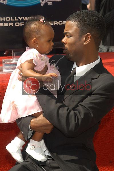 Chris Rock and daughter Lola