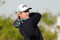 Andrea Pavan (ITA) on the 1st during the Pro-Am of the Commercial Bank Qatar Masters 2020 at the Education City Golf Club, Doha, Qatar . 04/03/2020<br /> Picture: Golffile   Thos Caffrey<br /> <br /> <br /> All photo usage must carry mandatory copyright credit (© Golffile   Thos Caffrey)