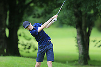Leon Giblin (Carton House) during the Connacht U14 Boys Amateur Open, Ballinasloe Golf Club, Ballinasloe, Galway,  Ireland. 10/07/2019<br /> Picture: Golffile | Fran Caffrey<br /> <br /> <br /> All photo usage must carry mandatory copyright credit (© Golffile | Fran Caffrey)