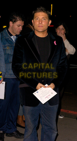 KENNY GOSS.Breast Cancer Care 2006 Fashion Show arrivals.Grosvenor House Hotel, London, England .October 4th, 2006.Ref: CAN.half length black jacket.www.capitalpictures.com.sales@capitalpictures.com.©Can Nguyen/Capital Pictures
