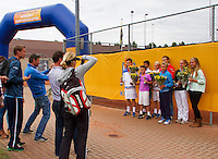 10-08-13, Netherlands, Rotterdam,  TV Victoria, Tennis, NJK 2013, National Junior Tennis Championships 2013,  <br /> <br /> Photo: Henk Koster