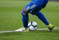 Aberdeen's Joe Lewis takes a goal kick<br /> <br /> Photographer Alex Dodd/CameraSport<br /> <br /> UEFA Europa League - Europa League Qualifying Round 2 2nd Leg - Burnley v Aberdeen - Thursday 2nd August 2018 - Turf Moor - Burnley<br />  <br /> World Copyright © 2018 CameraSport. All rights reserved. 43 Linden Ave. Countesthorpe. Leicester. England. LE8 5PG - Tel: +44 (0) 116 277 4147 - admin@camerasport.com - www.camerasport.com
