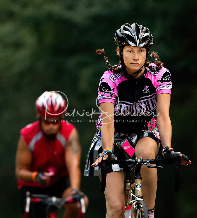 """Approximately 1,200 bicycle riders raised more than $1 million when they rode 24 hours straight during the 2010 """"24 Hours of Booty"""" Charlotte event in July 2010. The annual event, held in Charlotte's Myers Park neighborhood, raises money for cancer research."""