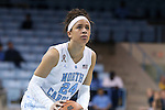 21 November 2013: North Carolina's Jessica Washington. The University of North Carolina Tar Heels played the Coastal Carolina University Chanticleers in an NCAA Division I women's basketball game at Carmichael Arena in Chapel Hill, North Carolina. UNC won the game 106-52.
