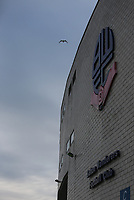 A general view of the Macron Stadium, home of Bolton Wanderers<br /> <br /> Photographer Alex Dodd/CameraSport<br /> <br /> The EFL Sky Bet League One - Bolton Wanderers v Bury - Tuesday 18th April 2017 - Macron Stadium - Bolton<br /> <br /> World Copyright &copy; 2017 CameraSport. All rights reserved. 43 Linden Ave. Countesthorpe. Leicester. England. LE8 5PG - Tel: +44 (0) 116 277 4147 - admin@camerasport.com - www.camerasport.com