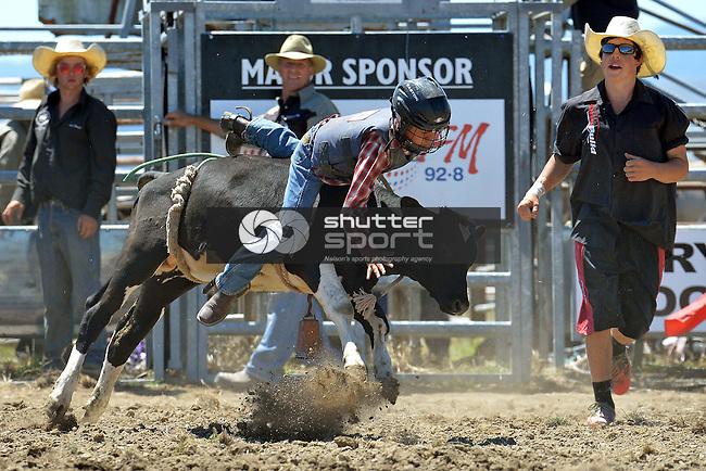 2015 Richmond Rodeo, Saturday 24 January 2015, Richmond Show Grounds, New Zealand, Photos: Barry Whitnall/shuttersport