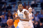 11 November 2013: North Carolina's N'Dea Bryant. The University of North Carolina Tar Heels played the University of Tennessee Lady Vols in an NCAA Division I women's basketball game at Carmichael Arena in Chapel Hill, North Carolina. Tennessee won the game 81-65.
