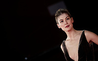 "L'attrice britannica Rosamund Pike posa sul red carpet del film ""Hostiles"" durante la Festa del Cinema di Roma, 26 ottobre 2017.<br /> British actress Rosamund Pike poses on the red carpet of the movie ""Hostiles"" during the international Rome Film Festival at Rome's Auditorium, October 26, 2017.<br /> UPDATE IMAGES PRESS/Isabella Bonotto"
