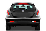 Straight rear view of a 2011 Lancia Delta Gold 5 Door Hatchback