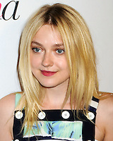 NEW YORK CITY, NY, USA - SEPTEMBER 05: Dakota Fanning arrives at the 2nd Annual Fashion Media Awards held at the Park Hyatt on September 5, 2014 in New York City, New York, United States. (Photo by Celebrity Monitor)