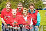 HEART: Committee members of the Tralee branch of the Irish heart Foundation with the trophys for the winners of the Irish Heart Foundation 8k walk from Brandon Car Park. on Sunday. L-r: Anette Spring, June and
