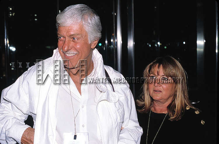 Dick Van Dyke and wife Michelle Tricia Marvin<br /> arriving at Kennedy Airport in New York City.<br /> September 21, 2000