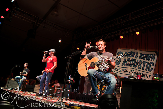 3 Doors Down perform at Newport Waterfront Events