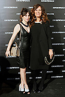 Roberta Armani and Blanca Suarez attends the Emporio Armani Boutique opening at Serrano street in Madrid, Spain. April 08, 2013. (ALTERPHOTOS/Caro Marin) /NortePhoto