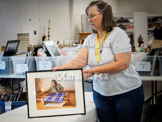 Judging of the Professional Photography entries at the 79th Amador County Fair, Plymouth, Calif.<br /> <br /> Judge Randy Allen.<br /> <br /> A Harvey Doner winner!<br /> <br /> A hat's off to Leslie and David Schupp and their great crew of volunteers who take it all in, set-up for the judging then in a short time, hang nearly 400 entries for everyone to enjoy!<br /> <br /> #DavidSchupp, #LeslieSchupp, #AmadorCountyFair, #TourAmador, #VisitAmador, #Photography, #AmadorCountysPhotographers