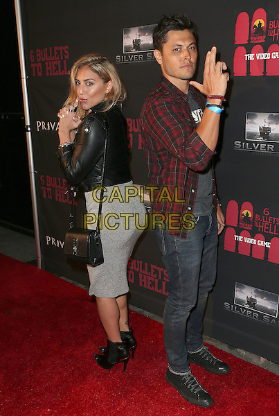 10 May 2016 - Los Angeles, California - Cassie Scerbo, Blair Redford. &quot;6 Bullets To Hell&quot; Launch. <br /> CAP/ADM/SAM<br /> &copy;SAM/ADM/Capital Pictures