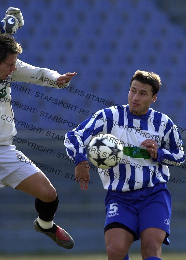 SPORT FUDBAL OFK BEOGRAD PARTIZAN  Jokic Djordje 03.2004. foto: Pedja Milosavljevic<br />