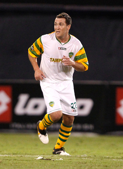 May 27, 2010; TAMPA, FLORIDA: FC Tampa Bay Rowdies Midfielder Scott Buete #22 during a 3-1 victory over the Minnesota Stars at Steinbrenner Field in Tampa, Florida. Photo by Matt May/FC Tampa Bay Rowdies
