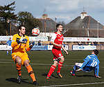 Sam Filler saves from Scott johnson
