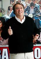 """L'attore Bob Messini posa durante un photocall per la presentazione del film """"Bar Sport"""", a Roma, 17 ottobre 2011..Italian actor Bob Messini poses during a photocall for the presentation of the movie """"Bar Sport"""" in Rome, 17 october 2011..UPDATE IMAGES PRESS/Riccardo De Luca"""