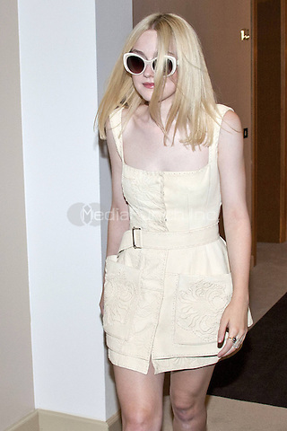 VENICE, ITALY - AUGUST 31: Dakota Fanning attends 'Night Moves' Photocall during the 70th Venice International Film Festival at Palazzo del Casino on August 31, 2013 in Venice, Italy. Credit: Imago/Unimedia/MediaPunch Inc. ***FOR USA ONLY***