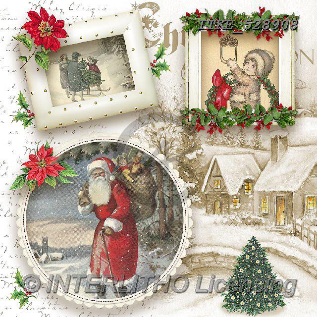 Isabella, CHRISTMAS SANTA, SNOWMAN, WEIHNACHTSMÄNNER, SCHNEEMÄNNER, PAPÁ NOEL, MUÑECOS DE NIEVE, paintings+++++,ITKE528908,#X# ,nostalgic,retro