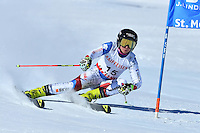 February 16, 2017: Simone WILD (SUI) competing in the women's giant slalom event at the FIS Alpine World Ski Championships at St Moritz, Switzerland. Photo Sydney Low