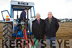 Thomas Wharton, Killarney Eamon Flynn, Causeway and Shane Godley, Ballymac at the Ballyheigue's ploughing match at  the Rectory field, Buncurrig on Sunday