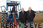 Thomas Wharton, Killarney Eamon Flynn, Causeway and Shane Godley, Ballymac at the Ballyheigue's ploughing match at  the Rectory field, Buncurrig on Sunday