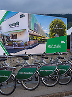 Stadtr&auml;der in Innsbruck, Tirol, &Ouml;sterreich, Europa<br /> city bikes, Innsbruck, Tyrol, Austria, Europe