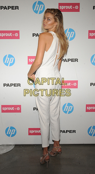 New York,NY- October 29: Gigi Hadid attends the red carpet at the Sprout by HP and HP Multi Jet Fusion 3D Printer Launch Event in New York City on October 29,2014.   <br /> CAP/RTNSTV<br /> &copy;RTNSTV/MPI/Capital Pictures
