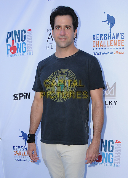 11 August 2016 - Los Angeles, California. Troy Garity. Clayton Kershaw's 4th Annual Ping Pong 4 Purpose Celebrity Tournament held at Dodger Stadium. <br /> CAP/ADM/BT<br /> &copy;BT/ADM/Capital Pictures