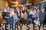 Morris Dowling from Mounthawk Tralee celebrating his 70th birthday at the Greyhound Bar with family and friends