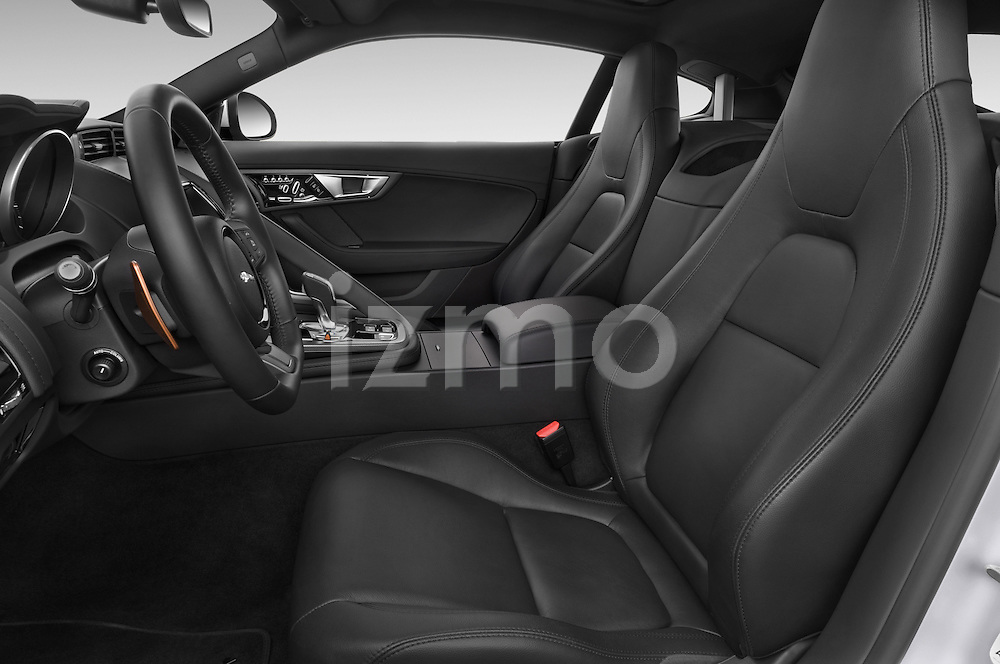 Front seat view of a 2017 Jaguar F-Type S 3 Door Coupe 2WD Front Seat car photos