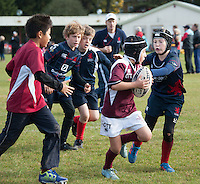 Images from the London Scottish Minis Tournament at Richmond Athletic Ground, Richmond, United Kingdom on 61 October 2016. Photo by Claudia Nako / PRiME Media Images.
