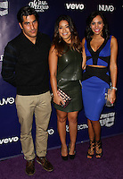 HOLLYWOOD, CA - FEBRUARY 18: Mike Catherwood, Gina Rodriguez, Nina Terrero at the NUVOtv Series Launch Premiere Party held at Siren Studios on February 18, 2014 in Hollywood, California. (Photo by Xavier Collin/Celebrity Monitor)